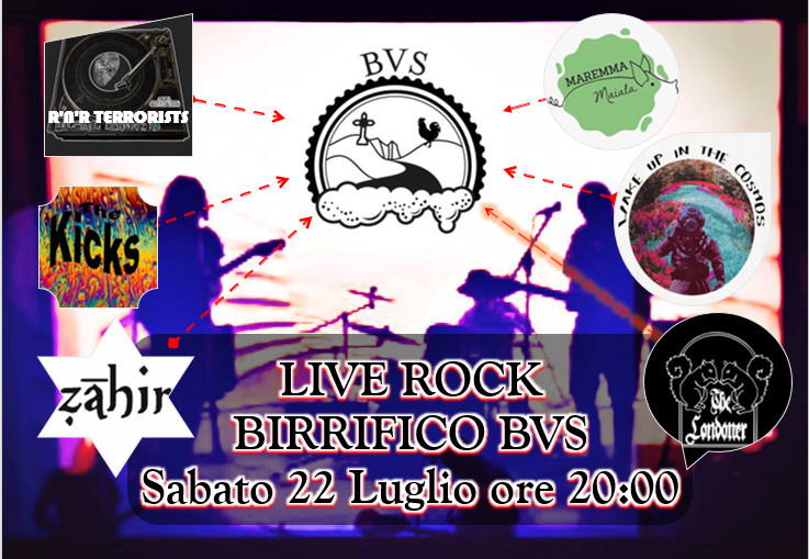 LIVE ROCK & LIVE BEER