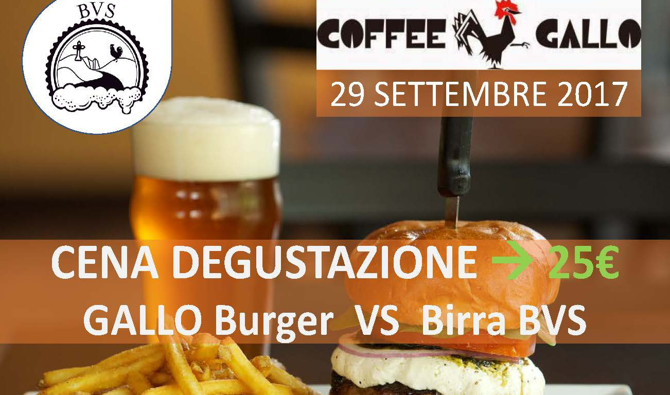 GALLO Burger VS Birra BVS
