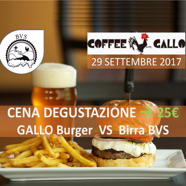 GALLO Burger VS Birra BVS